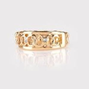 paparazzi Jewelry - Street Cred - Gold Stretchy Ring